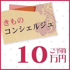 着物 きもの きものコンシェルジュ「ご予算10万円」