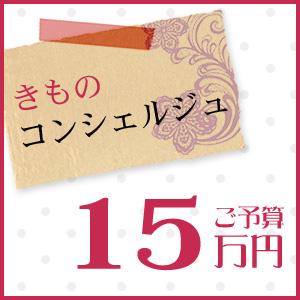【 ★★★ 】着物 きもの きものコンシェルジュ「ご予算15万円」