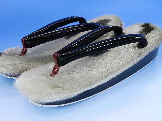逸品 アザラシの毛皮草履沙織の商品です数限定 希少品