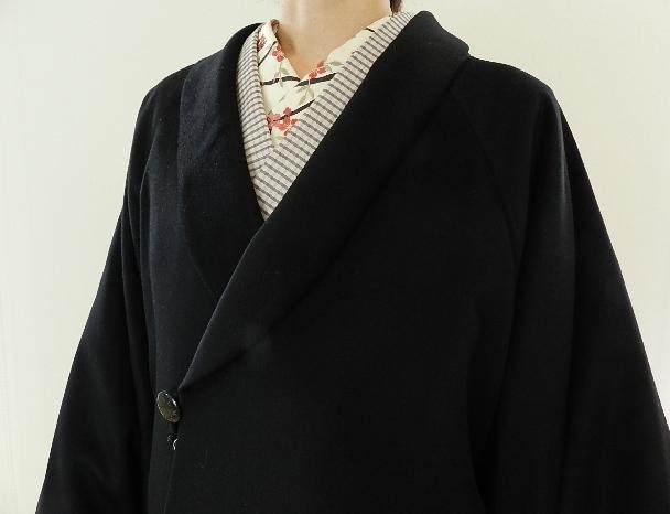 セール金額カシミヤ100パーセント 和装コート良いものを着てると気持ちいいー!良いものを安く提供します