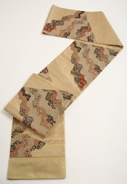 送料無料 逸品 加納幸の袋帯最高級品・正絹 袋帯 未仕立て特別セール価格見逃せない!