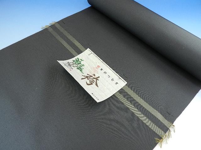 男 正絹 紬袴 チャコールグレー系絹100パーセント日本製オーダー仕立込み馬乗り仕立て込み男性用はかま正絹でこの金額は見逃せない