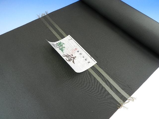 男 正絹 紬袴 モスグリーン(渋)系絹100パーセント日本製オーダー仕立込み馬乗り仕立て込み男性用はかま正絹でこの金額は見逃せない