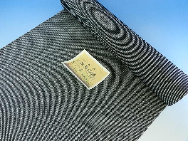 夏物 絽の男正絹袴 絹100パーセント日本製オーダー仕立込み馬乗り仕立て込み男性用 はかま福寿織ブランド袴