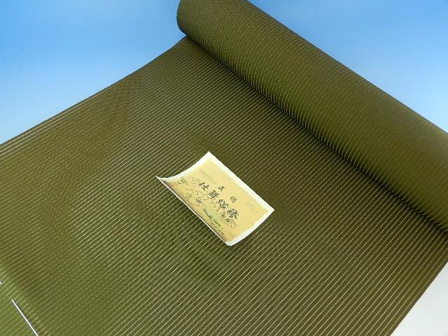 夏物 絽の男正絹袴 絹100パーセント日本製 オーダー仕立込み 馬乗り仕立て込み 男性用 はかま 福寿織ブランド袴