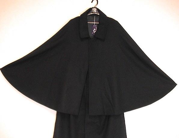 カシミヤ入り インパネス マントタイプ とんび和装コート『きものごふくや』価格びっくり破格で買えます!お買い得月間