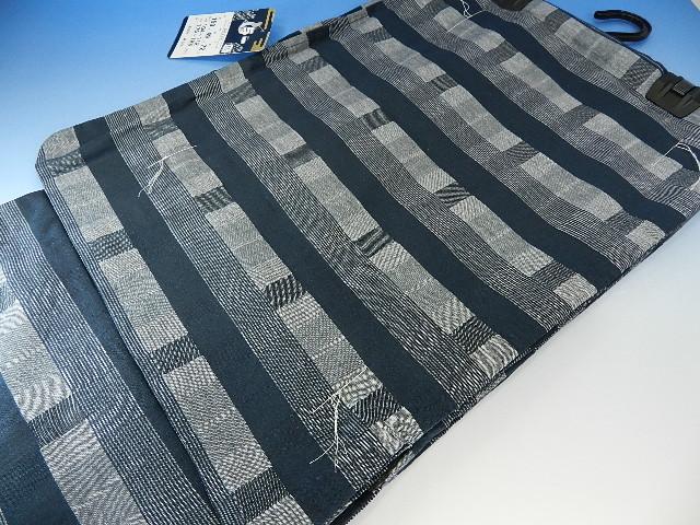 時間限量版 1500年日元男人浴衣棉花麻格子模式與對角線尺寸和特殊價格