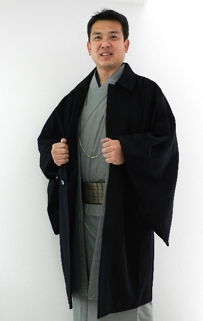男 和装コート角袖 コート送料無料・和装コート『きものごふくや』価格限定お買い得月間
