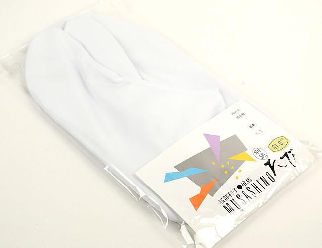 大きいサイズの足袋綿100% 白足袋 (4枚 こはぜ) 男性用 女性用 兼用 30cm 31cm特大サイズ メール便可 あす楽
