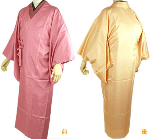 雨コート 着物 コート 防水 一部式 8色 携帯ポーチつき ピンク 黒 黄色 黄緑 クリーム 特集