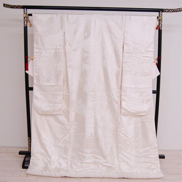 【中古】 婚礼衣装 リサイクル着物 白無垢 白無垢 白打掛 白打ち掛け 白打掛け 花嫁衣裳 和装婚礼衣装 ブライダル ウエディング shiro-0076