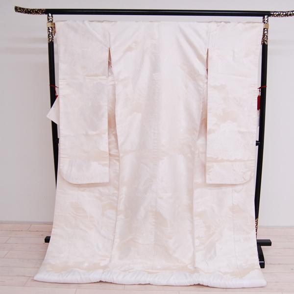 婚礼衣装 リサイクル着物 白無垢 shiro-0108 【中古】 白無垢 白打掛 白打ち掛け 白打掛け 花嫁衣裳 和装婚礼衣装 ブライダル ウエディング
