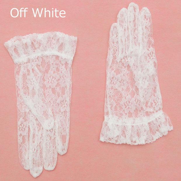 ブライダル応援価格 お中元 メール便可 ウエディンググローブ オフホワイト 商品番号:694-5100 ウエディング グローブ 結婚式 手袋 花嫁 売り込み ブライダル