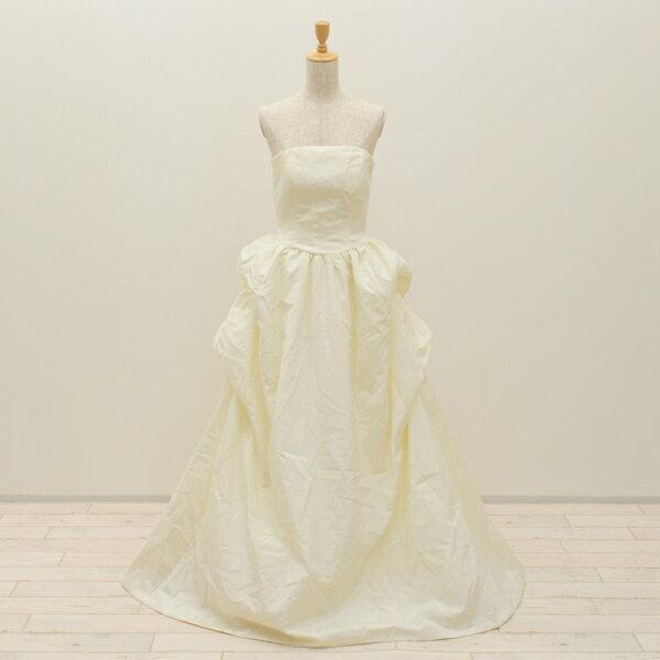 【中古】リサイクルドレスウエディングドレス 9号 c1319 ドレス ウエディングドレス 発表会 ウエデイングドレス ブライダル 花嫁 結婚式