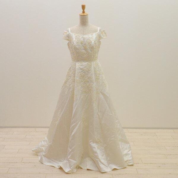 【中古】 リサイクルドレス ウエディングドレス 11号 c1373ドレス ウエディングドレス 結婚式 発表会 ウエデイングドレス ブライダル 花嫁 大きいサイズ