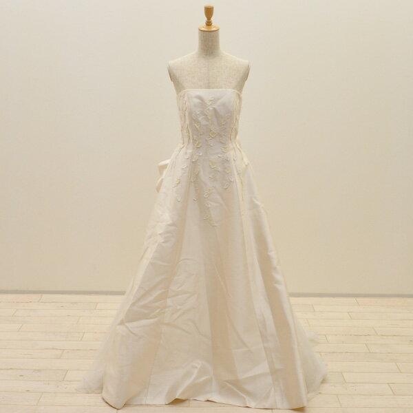 【中古】リサイクルドレスウエディングドレス 9号 c1405 ドレス ウエディングドレス 発表会 ウエデイングドレス ブライダル 花嫁 結婚式