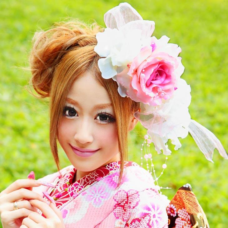 在庫限り 髪飾り kt460 成人式 振袖 結婚式 ヘアアレンジ 七五三 25%OFF 着物 ヘッドドレス 付与 ヘアアクセ かみかざり 成人式向きフォーマル ヘアアクセサリー