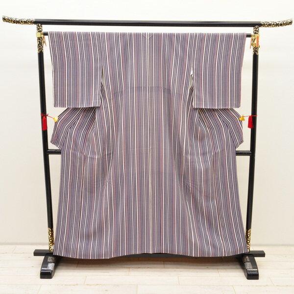 【中古】リサイクル着物 正絹着物 身丈144cm リサイクル小紋きもの uki-218 リサイクル 中古着物 中古きもの
