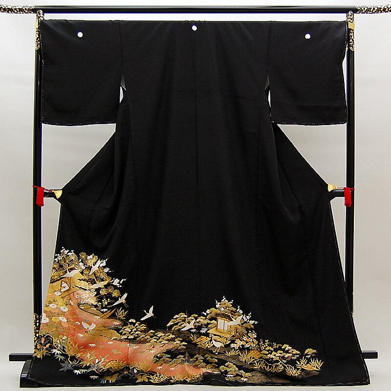 【レンタル】 留袖 留袖トータルセット 貸衣装 結婚式 きもの 往復送料無料 レンタル正絹留袖25点フルセット re-tome-0032