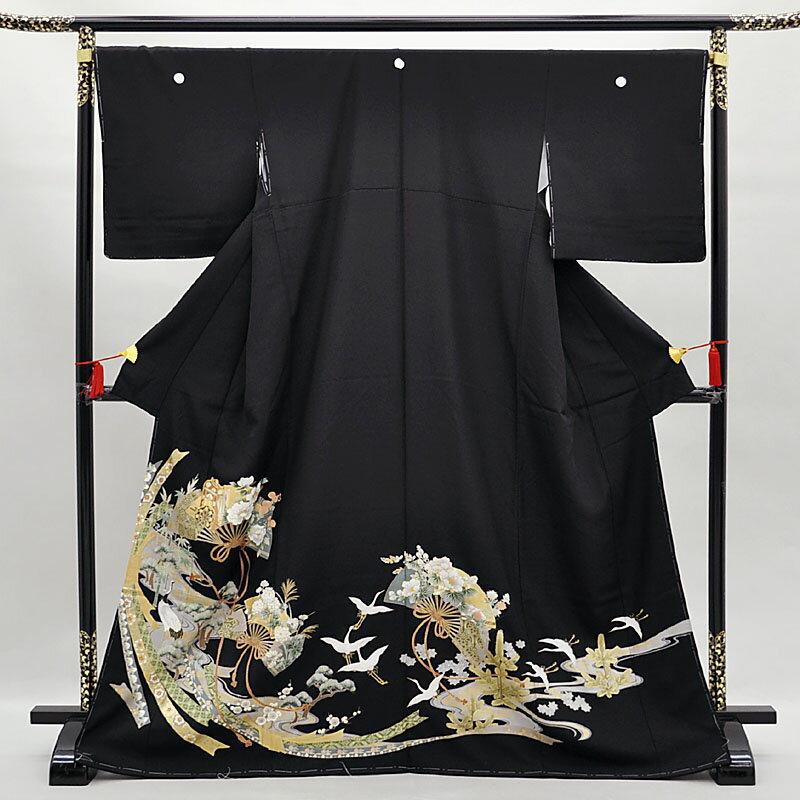 【レンタル】 留袖 留袖トータルセット 貸衣装 結婚式 きもの 往復送料無料 レンタル正絹留袖25点フルセット re-tome-0077