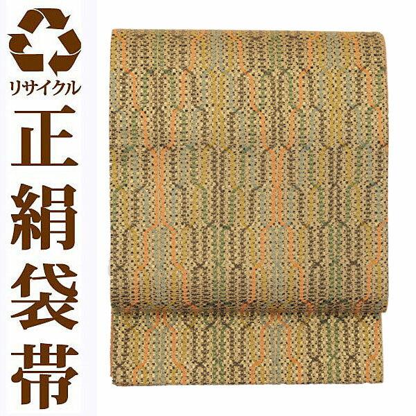 【中古】 全通 リサイクル袋帯 中古帯 袋帯 正絹袋帯 ufobi583