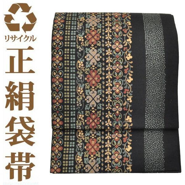 【中古】【六通】リサイクル中古袋帯 ufobi363 リサイクル中古帯 袋帯 正絹袋帯