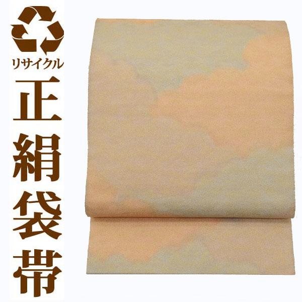 【中古】 【六通】 リサイクル中古袋帯 ufobi451 リサイクル中古帯 袋帯 正絹袋帯