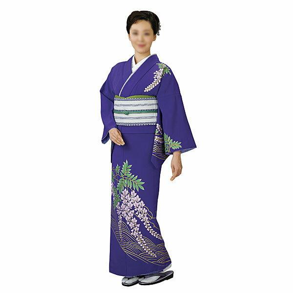 胴抜き絵羽着物 踊り衣装 紫・フジ 里-1208-s wco-1208-s-p29
