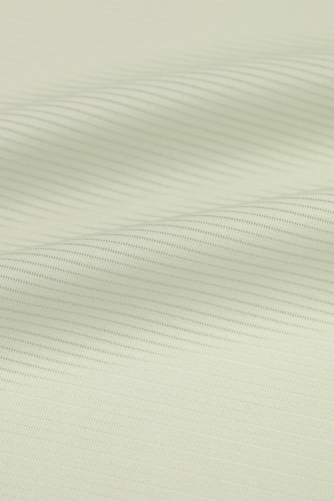 【東レシルック奏美】夏物 駒絽色無地着尺No.3404 極薄青磁♯パステルトーン