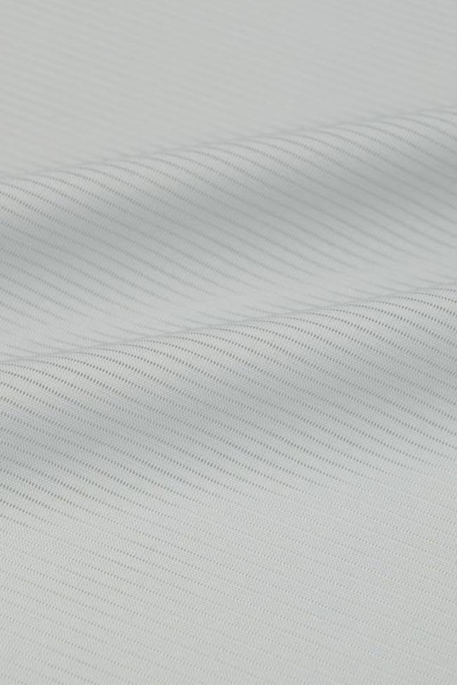 【東レシルック奏美】夏物 駒絽色無地着尺No.3405 空色鼠♯パステルトーン