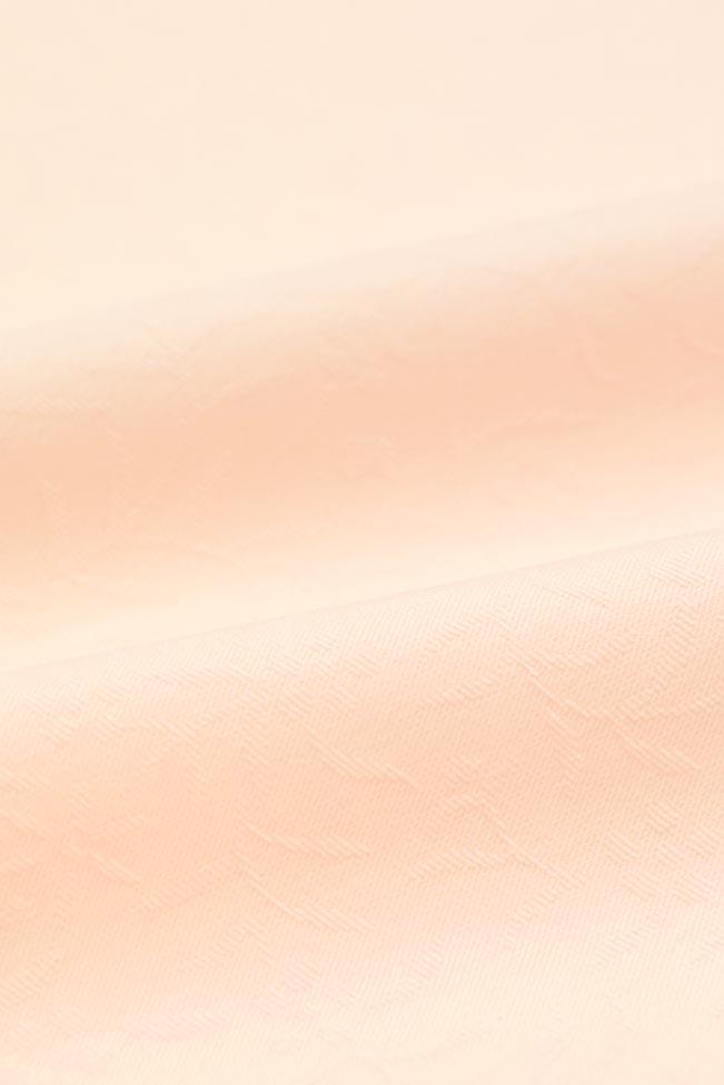 【東レシルック奏美】紋意匠色無地着尺美ゆきNO.5611桜色