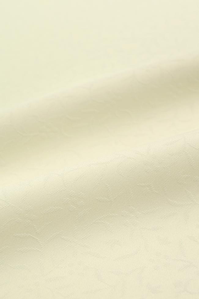 【東レシルック奏美】紋意匠色無地着尺美ゆきNO.5617「極薄白柳」