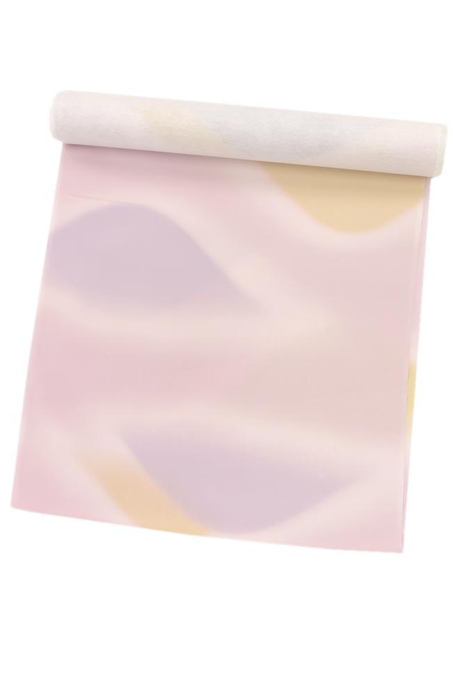 正絹京染め羽二重肩裏地コート裏・羽織裏遠山ぼかし/薄藤色(6)