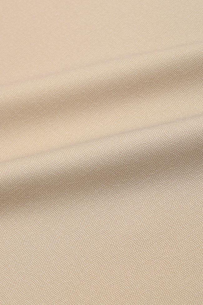 東レシルック奏美新江戸小紋着尺分銅鮫と万筋NO.1702「薄梅色」