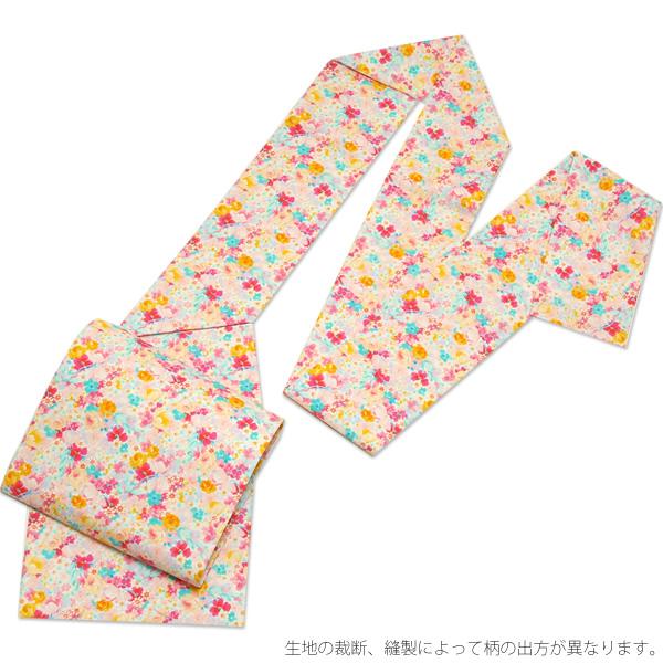"""木绵名古屋带""""豪华套房花""""京都和服町原始物缝制上名古屋带棉布名古屋带玩笑带"""