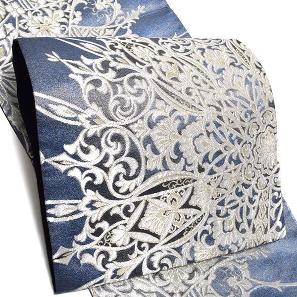 礼装 袋帯「煌雅大麗華文」未仕立て 正絹帯 礼装帯 フォーマル <T>【メール便不可】