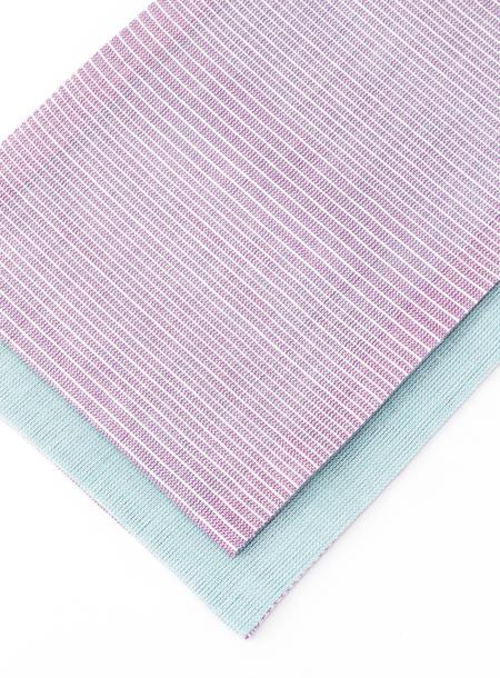 【 レディース浴衣帯 】 「 グラデーション 」( パープル ) 半巾帯 半幅帯 女性 レディス 大人 無地 紫 ラベンダー 麻
