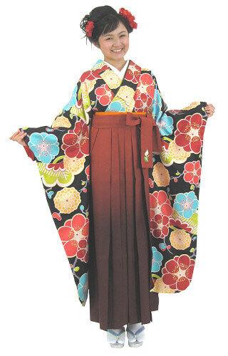 【レンタル】袴レンタル フリーサイズ 5305
