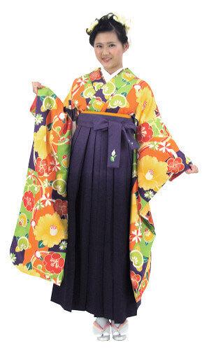 【レンタル】袴レンタル フリーサイズ 5307