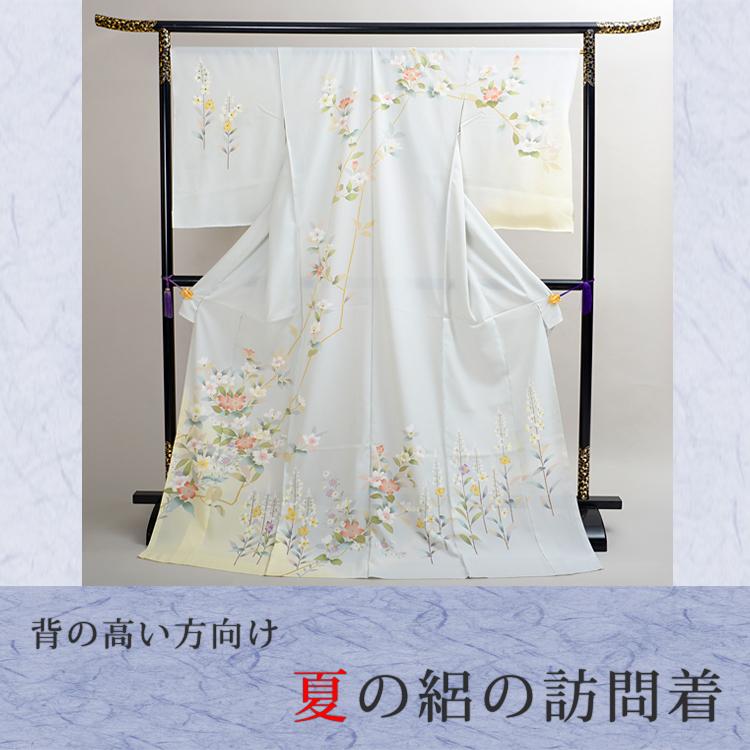 訪問着 レンタル n15【七五三 卒業式 入学式 結婚式 披露宴 参列】 【絽】