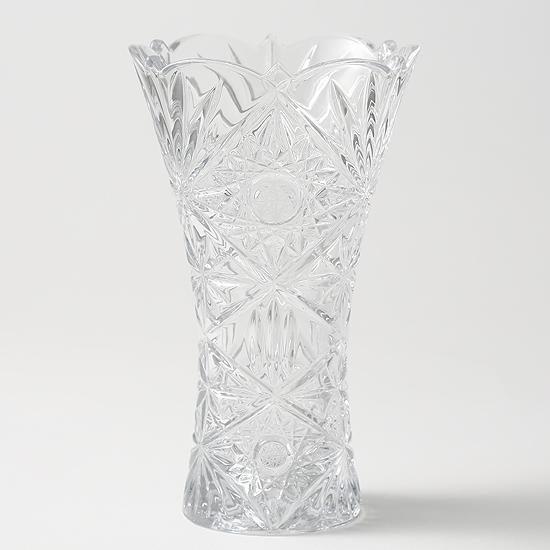 ◎高級クリスタル◎ディイェ ベース8個セット (花瓶)【フラワーベース】【かびん】【花瓶】【クリスタルドナウ】