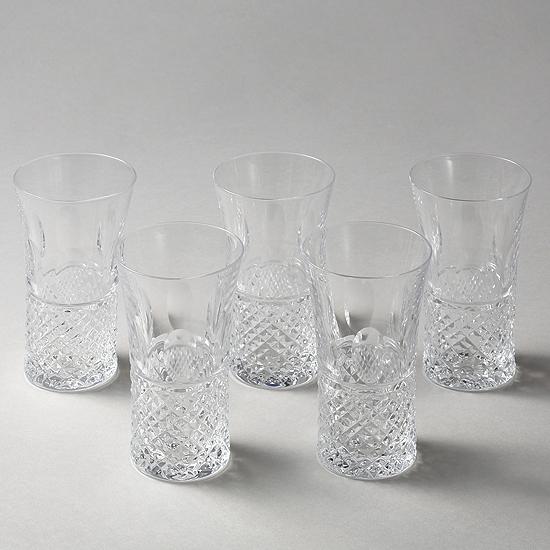◎高級クリスタル◎イストロス 一口ビールセット【クリスタルドナウ】【グラス】【セットグラス】【ビールグラス】