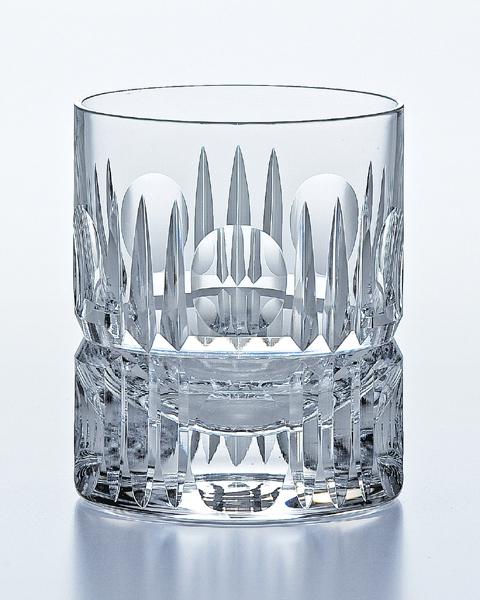 《日本製》カットバリエーション オンザロック(330ml)【クリスタルグラス】【ハンドメイド】【ロックグラス】【オールドグラス】