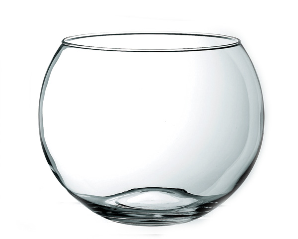 《メキシコ製》リビー バブルボール 1750031 (最大径304mm) 【ベース】【花瓶】 アメリカ Libbey リビー LB-245
