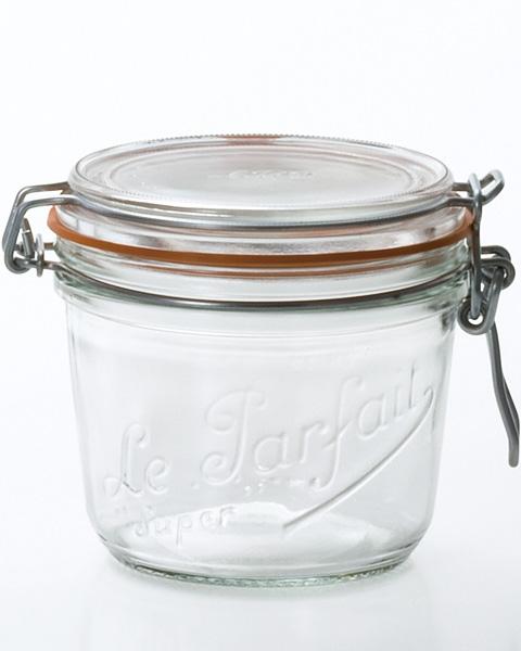 《フランス製》ル・パルフェ 密封容器500 (500ml)【ガラス瓶】【保存ビン】【保存容器】:東京グラス激安センター