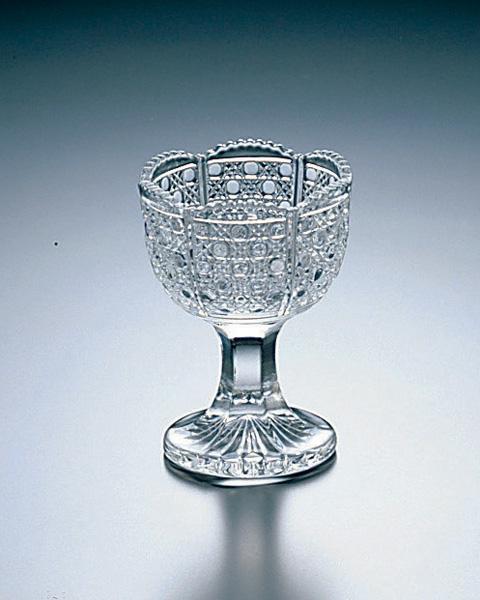 《日本製》硝子風物詩 馬上杯(小) 6個セット【和の器】【珍味入れ】【杯】