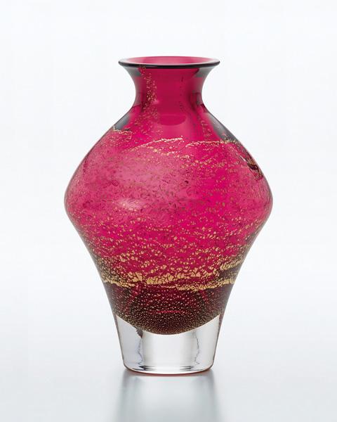 《日本製》江戸硝子 紅玻璃 徳利 (385ml)【酒器】【とっくり】