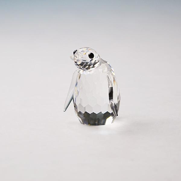 ◆在庫限り◆ノブレスクリスタル社製 オーナメント ペンギンS【ガラス置物】【Noblesse crystal】