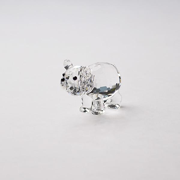 ◆在庫限り◆ノブレスクリスタル社製 オーナメント ポーラーベアB【ガラス置物】【Noblesse crystal】