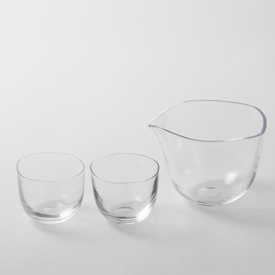 《日本製》《木本硝子》Brume 冷酒セット《made in Japan》《SAKE》